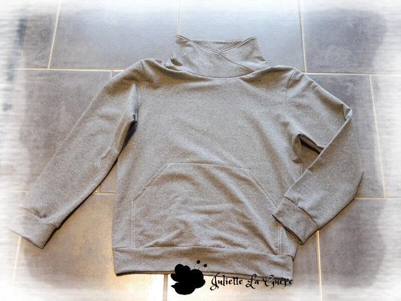 Kriquet gris à poche