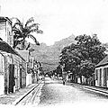 1909 : La rue St. Georges à Port-Louis