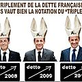 Crise de la dette : triple a pour la france ! merci à qui ?