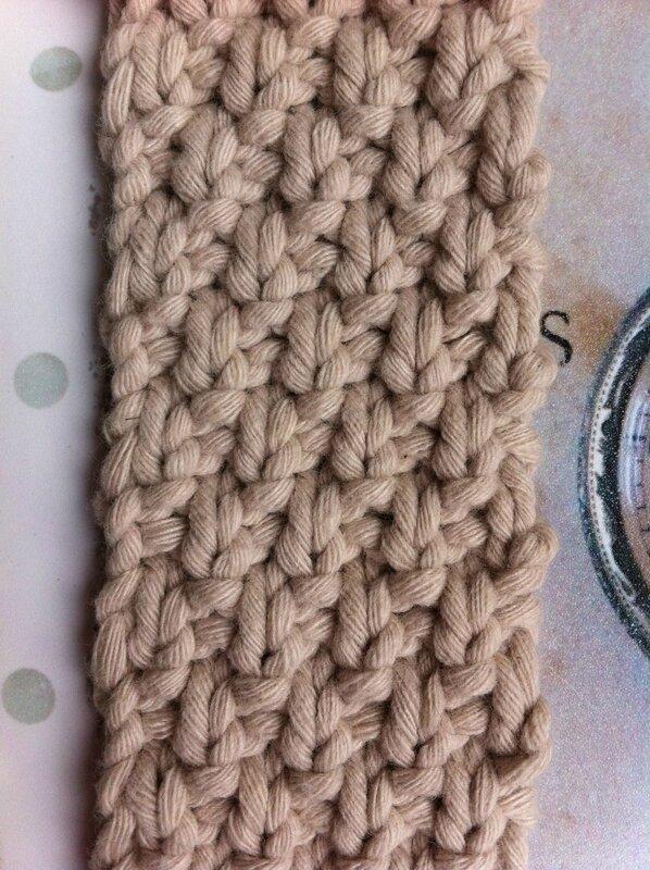 Le point de blé - Le tricot by chrissy mi