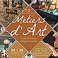 Expo métiers d'art lectoure 2018