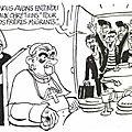 catho pape vieux debris senil migrants collabo humour