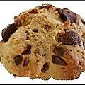 Cookie sans beurre aux pépites de chocolat