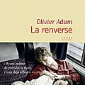 la renverse de Olivier Adam