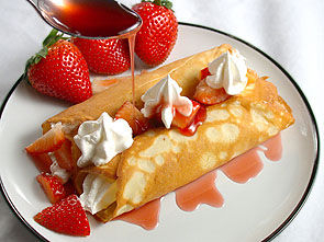 chandeleur crèpes chantilly fraisesBPat20