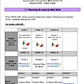 plannings de rives (mai et juin)