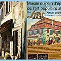 Le musée du pain d'epices et de l'art populaire alsacien à gertwiller