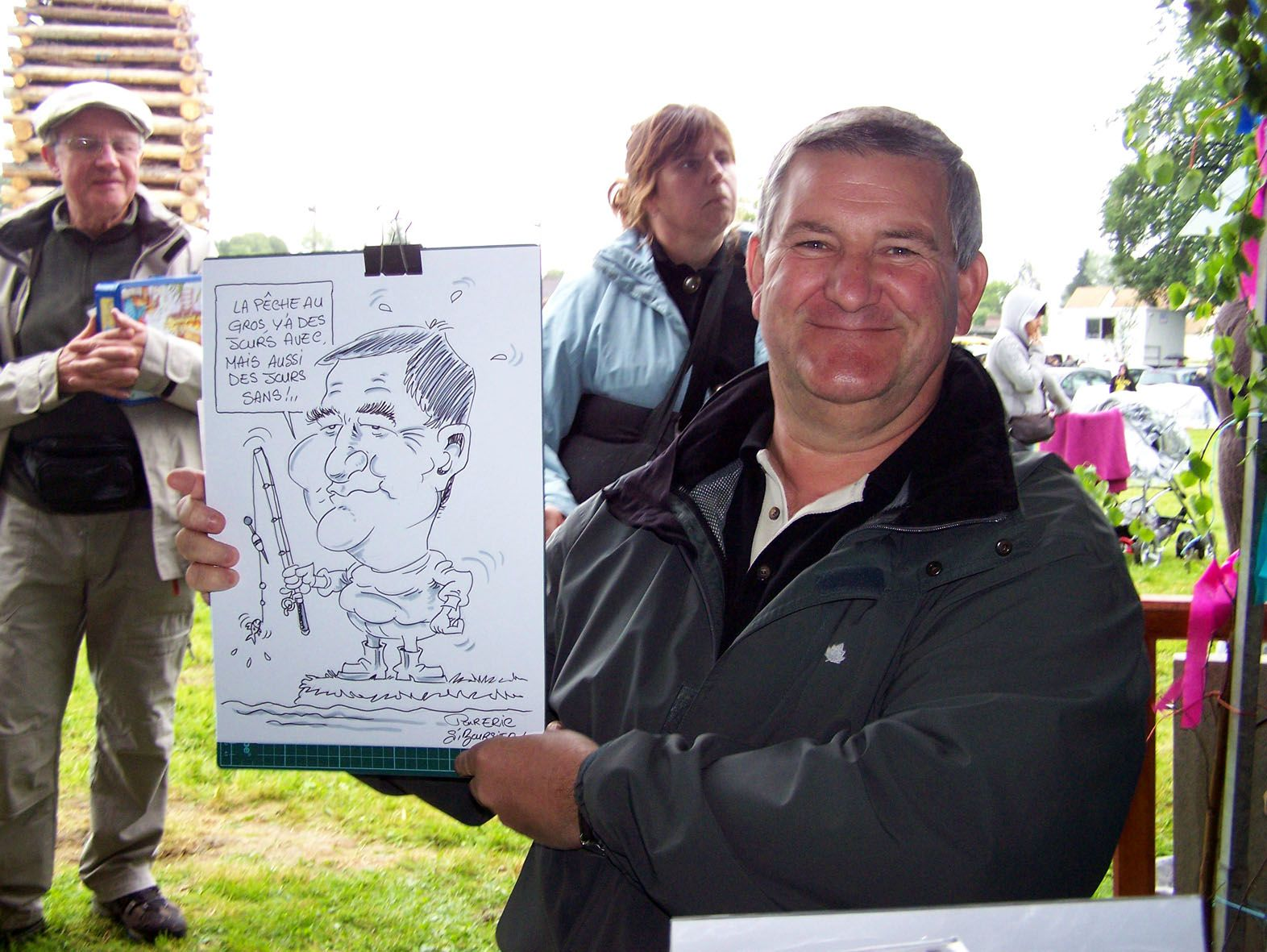 Caricature en direct BOURSIER 3