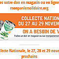 Collecte Nationale Banque Alimentaire