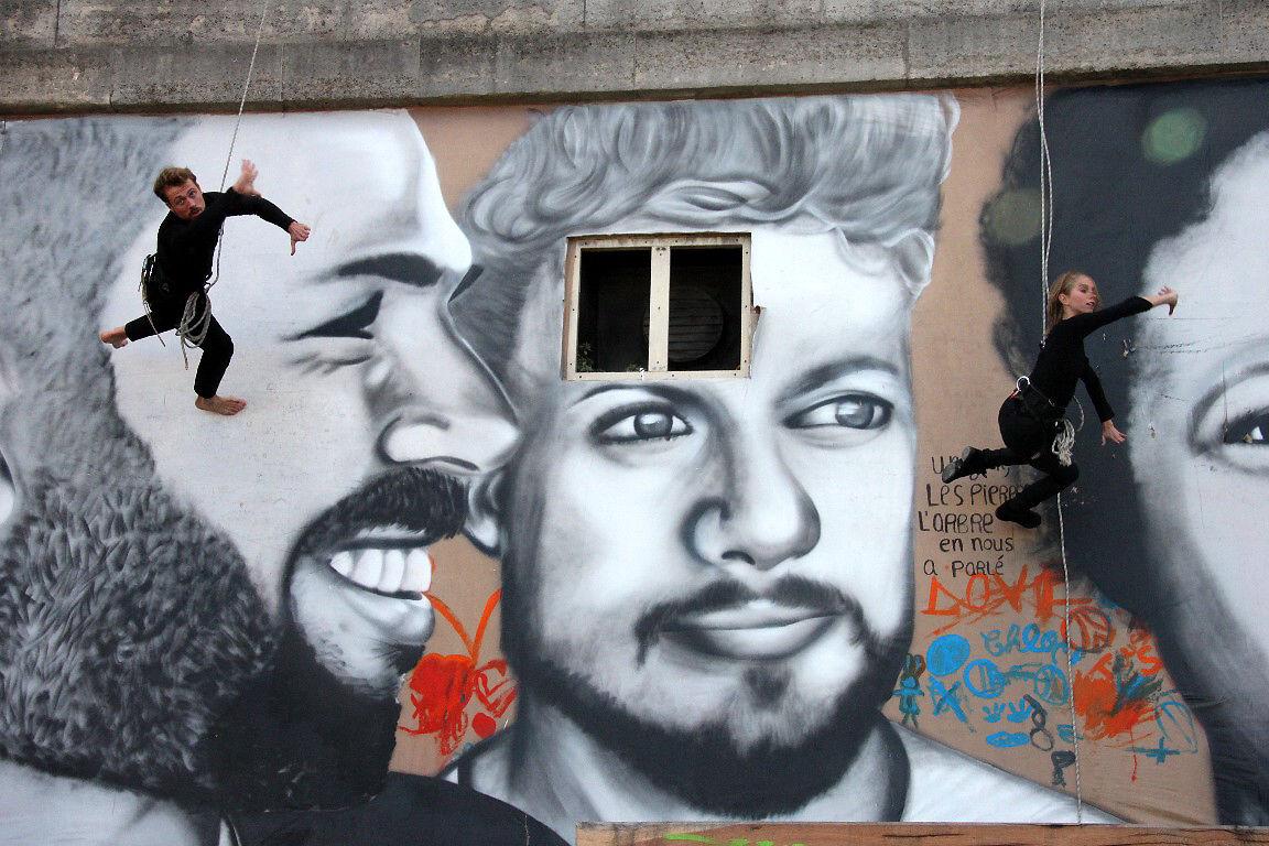 Cie Les Passagers - Walldance -Les voies du mur + Mouarf_1965