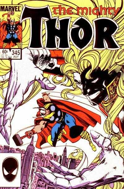 mighty thor 1966 345