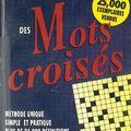 Dictionnaire des mots croisés, jacques rossignol