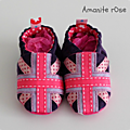 Chaussons Union Jack Fille