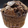 Muffins américains au chocolat super moelleux