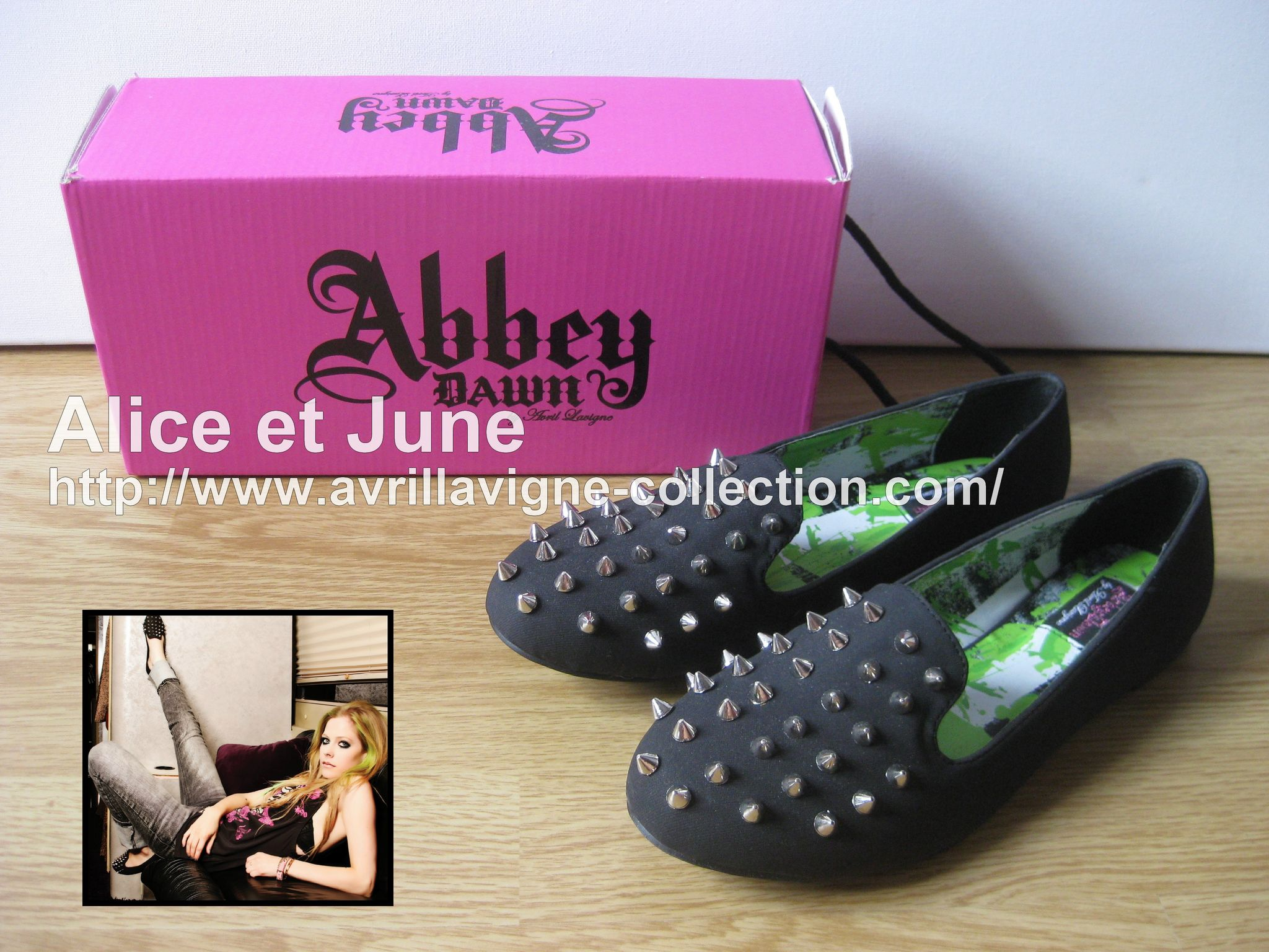Abbey Dawn Rockstar Loafer Flat