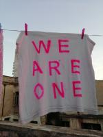 T shirt we are one