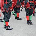 La société philharmonique de steenvoorde (nord) au carnaval de granville (manche) le 26 février 2017 (2)