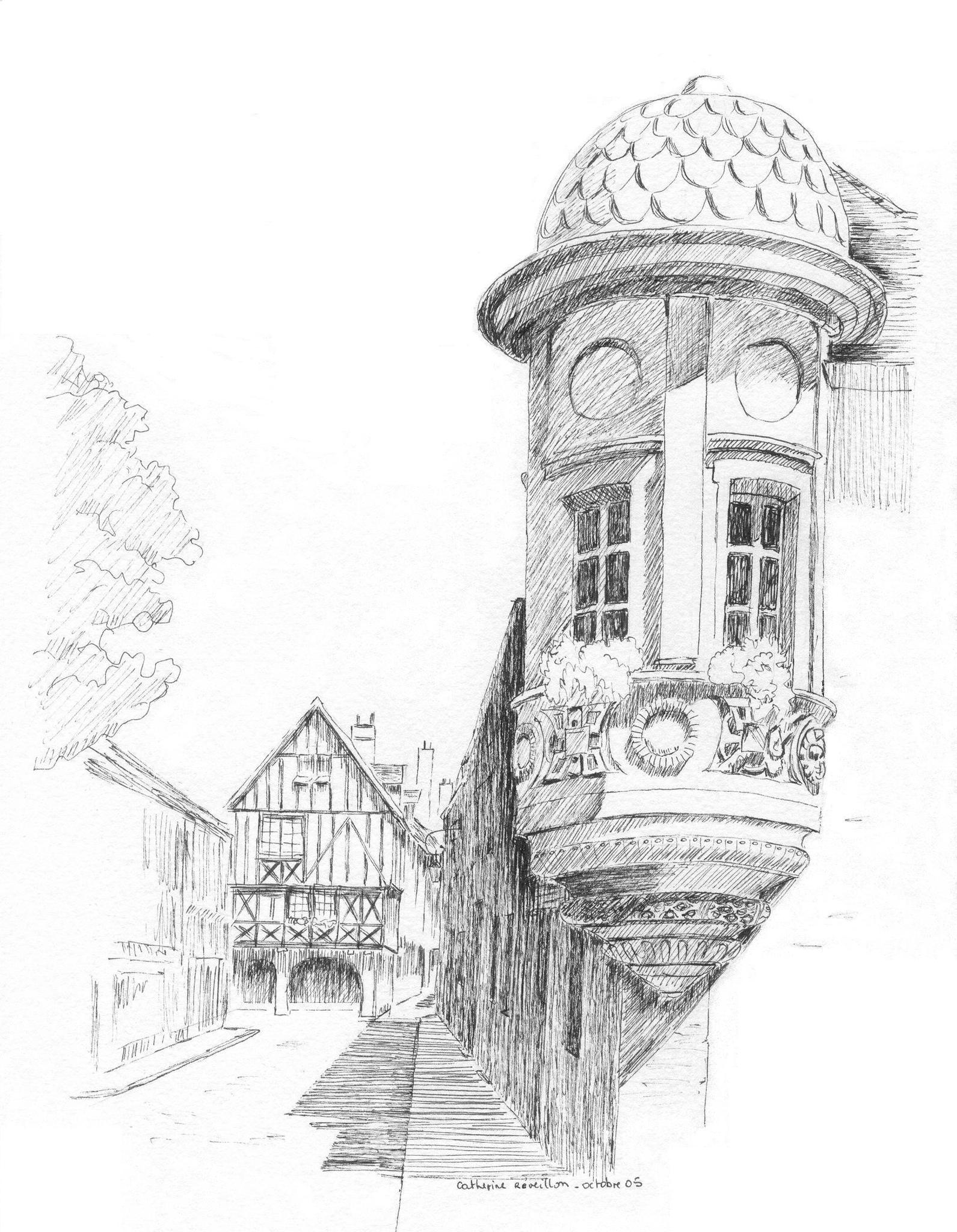 Maison En Ruine Dessin maison en ruine - photo de dessins - les créations de catherine