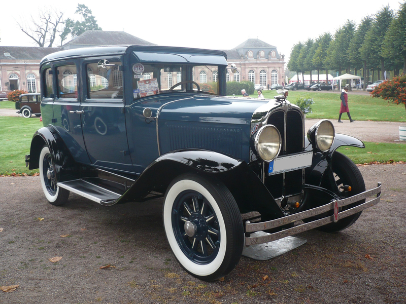 PONTIAC Big Six Fischer 4door Sedan 1929 Schwetzingen (1)
