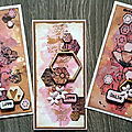 Nouveautés aall and create - 3 cartes