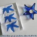 Les serviettes étoiles de mer