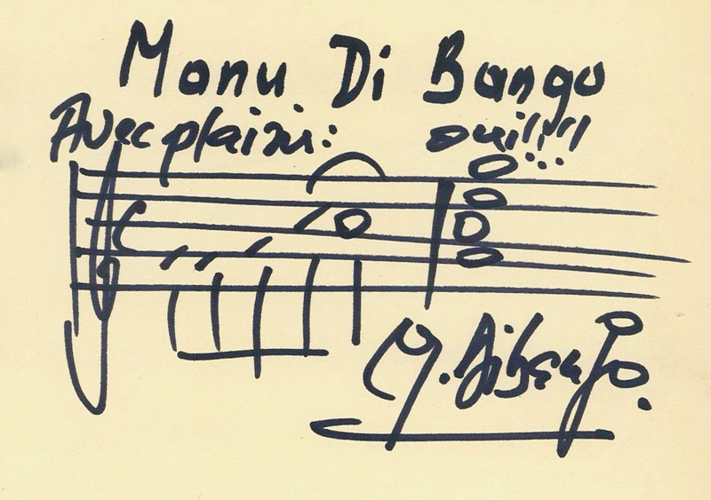 FESTIVAL JAZZ 2005 signature Manu Dibango 2