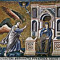1293-1300 CAVALLINI Annonciation - mosaïque de S Maria in Transtevere Rome - wga