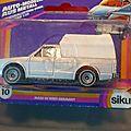 La volkswagen siku pickup truck des années 80, dans son emballage d'origine !