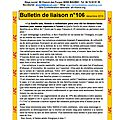 Bulletin de liaison n° 106