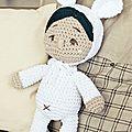 Les laines katia vous proposent des modèles gratuits à télécharger : doudous, chaussons, cabas au crochet