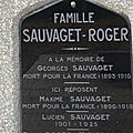 Sauvaget georges (châteauroux) + 05/11/1916 sailly saillisel (80)