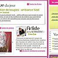 Le site femme2decotv.com nous offre une place d'honneur !!!