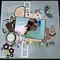 Une double-page aquatique pour le défi de l'été de mezara