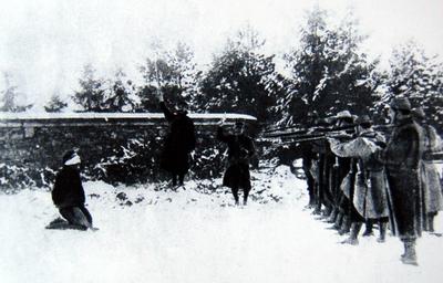 les soldats fusillés pour l'exemple pendant la guerre 1914-1918, conférence à Avranches vendredi 15 mars 2019
