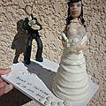 figurine de mariage personnlisée