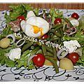 Salade haricots pommes de terre