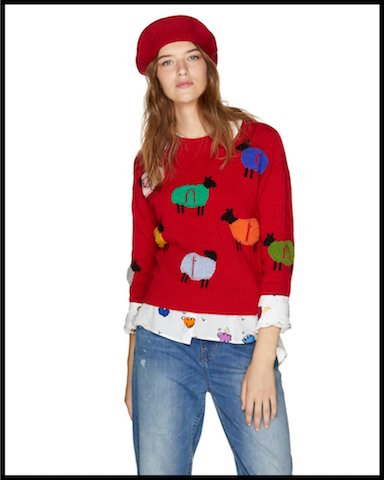 benetton pull moutons 1