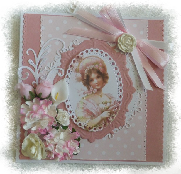 181213 Maryann Scrap carte de Marie lou