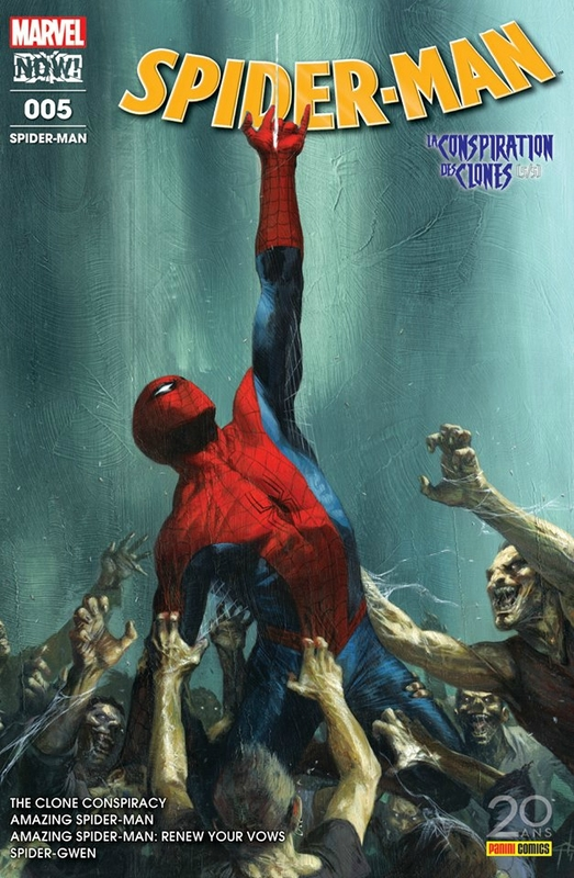 Panini Marvel Spiderman V6 La conspiration des clones
