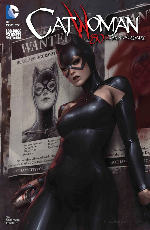 catwoman 80th anniversary special 2010 jeehyung lee variant