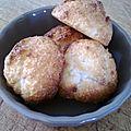 Rocher à la noix de coco (congolais)