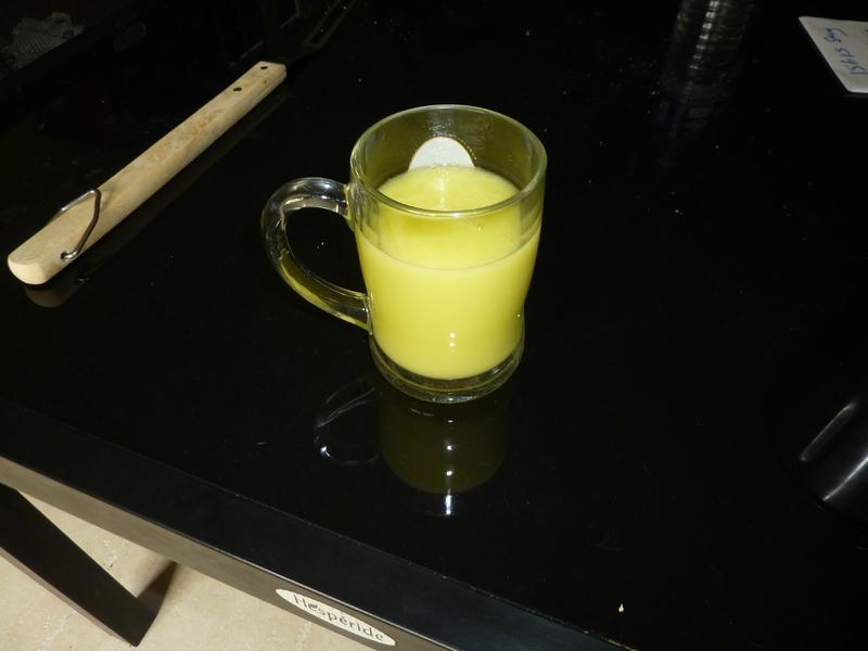 Smoothie citronné concombre-pomme au TM31