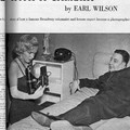 Article photography mag - earl wilson report 1954