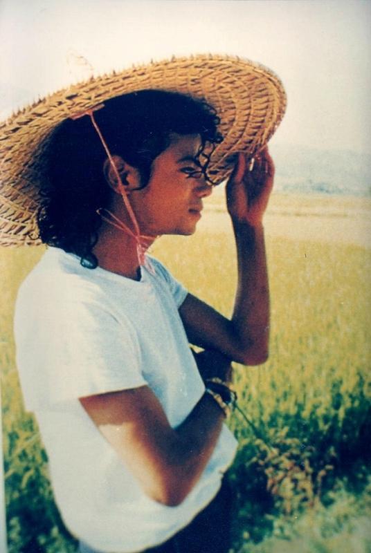 michael jackson en chine le 23 octobre 1987 on michael
