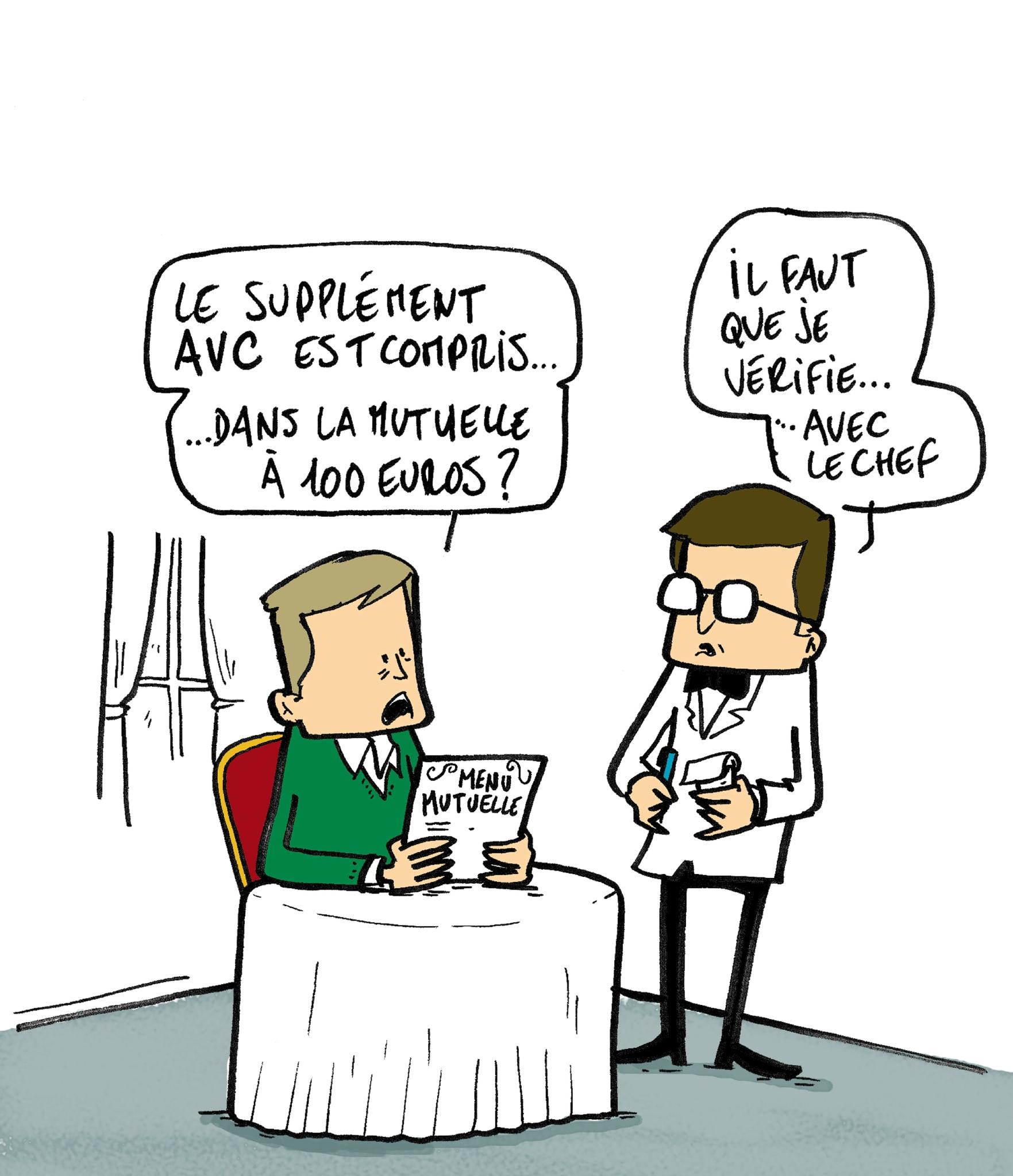 Illustration supplément santé (Lagardère active presse écrite)