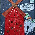 Marange Colette art postal fête du fil 2017