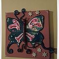 Tableau 15*15 Papillon