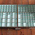 1 casier d'imprimerie ancien