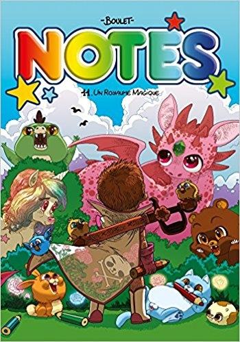 Notes tome 11 : un royaume magique, de Boulet
