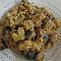 *** soupe indienne à l'aubergine ***